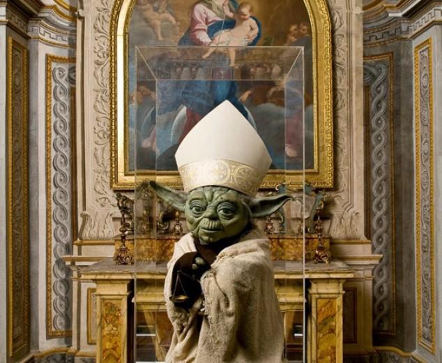 Mi zia sostiene di aver incontrato il maestro Yoda in chiesa….sicuri fosse incenso?!