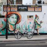 Alice Pasquini, wall in Camden, Photo by Jessica Stewart - RomePhotoBlog